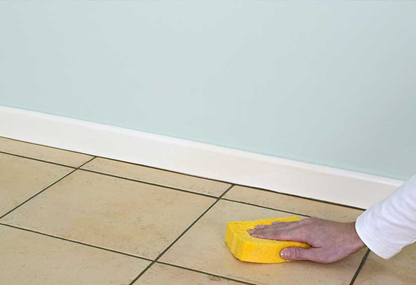 tiles grout cleaning